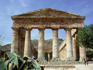 Segesta Temple in Sicily