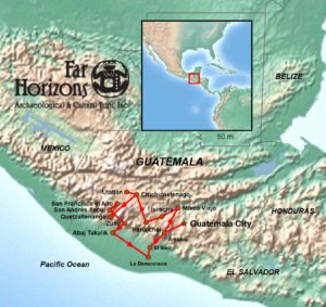 Maya highlands tour Guatemal tour archaeology tour