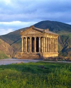 Garni temple Zvartnots Cathedral Mother church Yerevan Armenia tour Georgia tour archaeology tour
