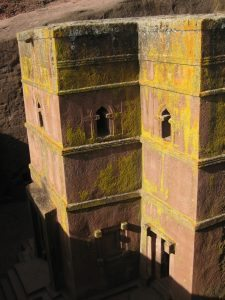 Lalibela Church Ethiopia