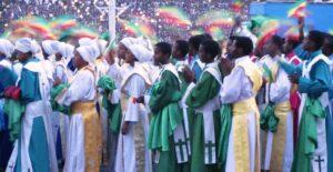 Meskel Parade Addis Ethiopia