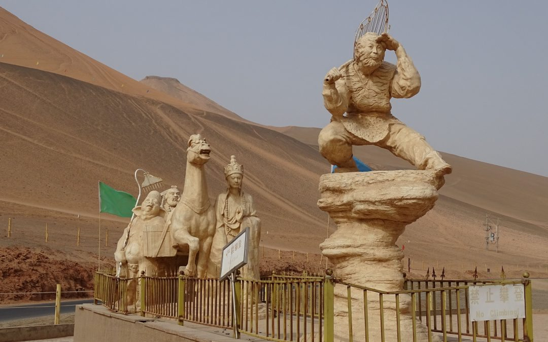 Traveling along the Silk Road through Western China