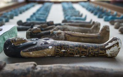 Tomb of a goldsmith found near Egypt's Valley of the Kings