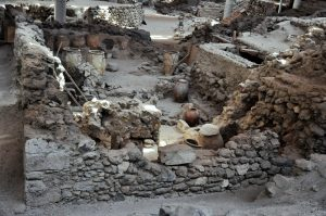 Akrotiri Santorini Greek Islands tour archaeology tour