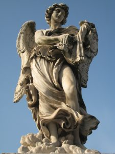 Angel statue Rome Far Horizons Italy archaeology tour