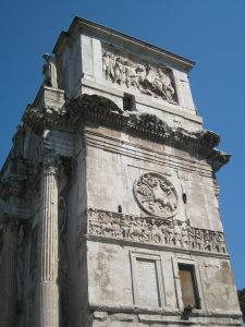 Arch of Constantine Rome Far Horizons Italy archaeology tour