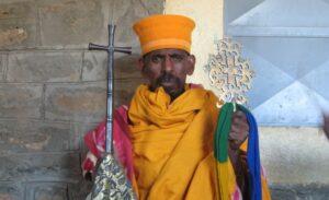Axum monk Ethiopia tour archaeology tour history tour