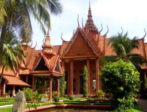 Cambodia tour National Museum
