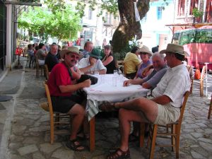 Greek taverna Greek tour Archaeology