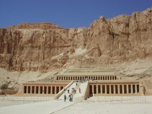 Hapshepsut temple egypt tour Bob Brier tour