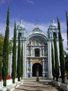 Ocotlan church Oaxaca Christmas tour