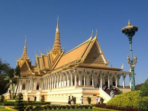 Phnom Penh Royal Palace Cambodia tour archaeology tou