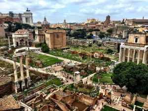 Roman Forum Rome Italy archaeology tour