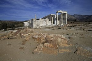 Sangri Greece Temple to Demeter Greek Islands tour archaeology tour