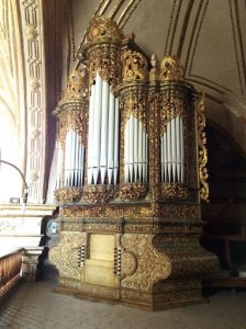 Santo Domingo pipe organ Oaxaca Mexico