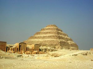 Saqqara Egypt tour Bob Brier archaeology tour