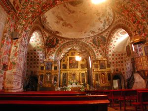 Santo Domingo Church interior Oaxaca Christmas tour