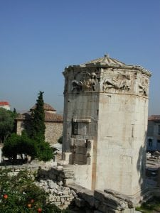 Tower of winds Athens tour archaeology tour educational tour