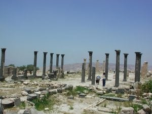 Umm Quais Jordan tour archaeology tour