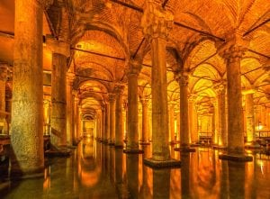 Yerebatan Cistern Turkey tour Greece tour