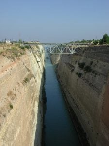Corinth Canal Greece tour archaeology tour