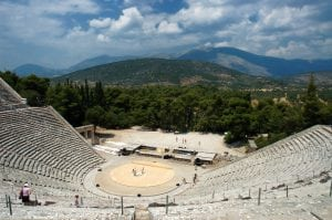 Epidaurus Theatre, Greece tour archaeology tour