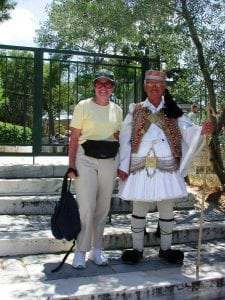 Greek soldier Greece tour