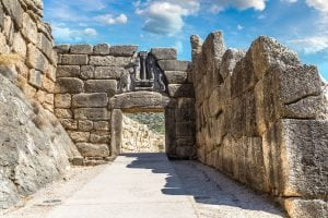 Lion Gate Mycenae, Greece tour archaeology tour