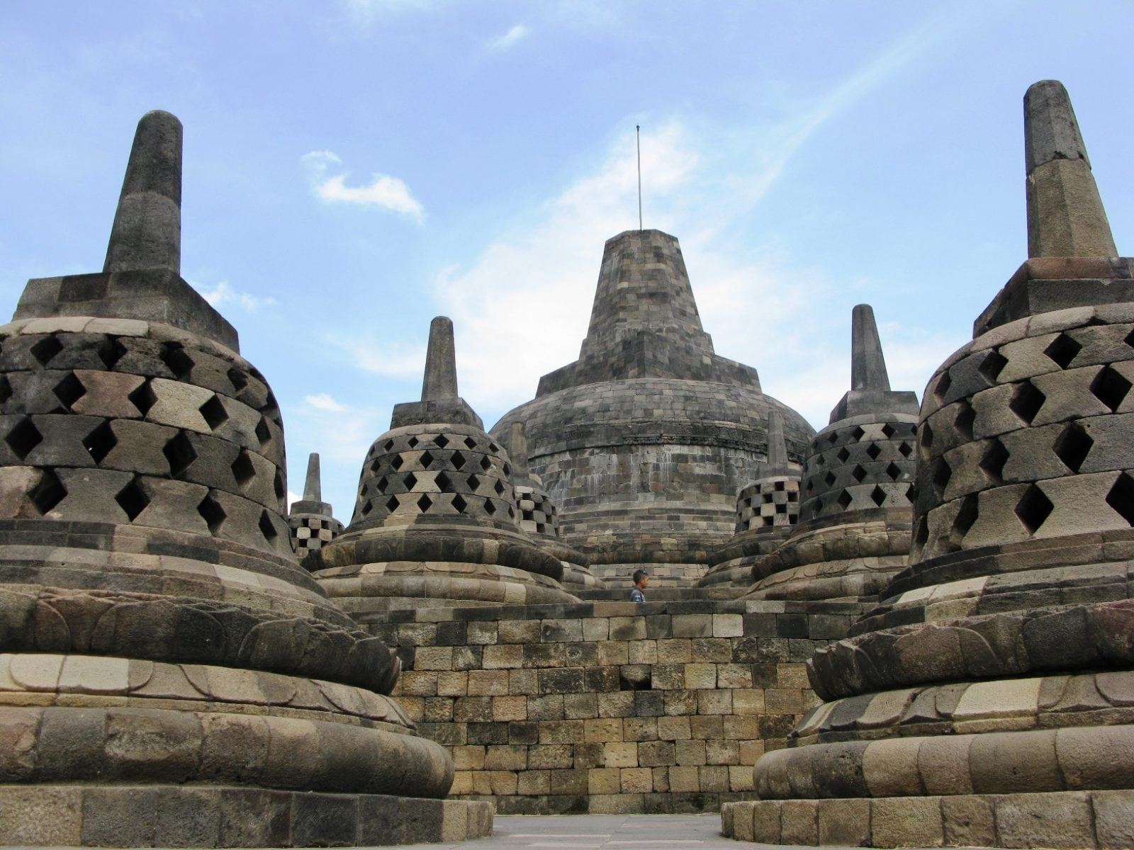 Borobudur tour Indonesia tour Malcolm David Eckel tour archaeology tour