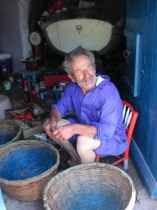 Greek fisherman Greek tour Dodecanese cruise