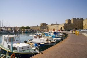 Rhodes city wall tour Dodecanese cruise