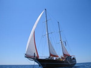 Sailing yacht cruise Turkey tour