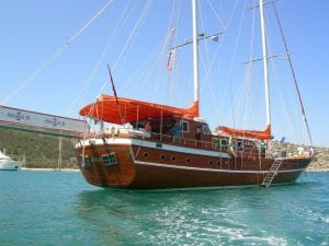 Turkish gulet tour Dodecanes cruise archaeology tour