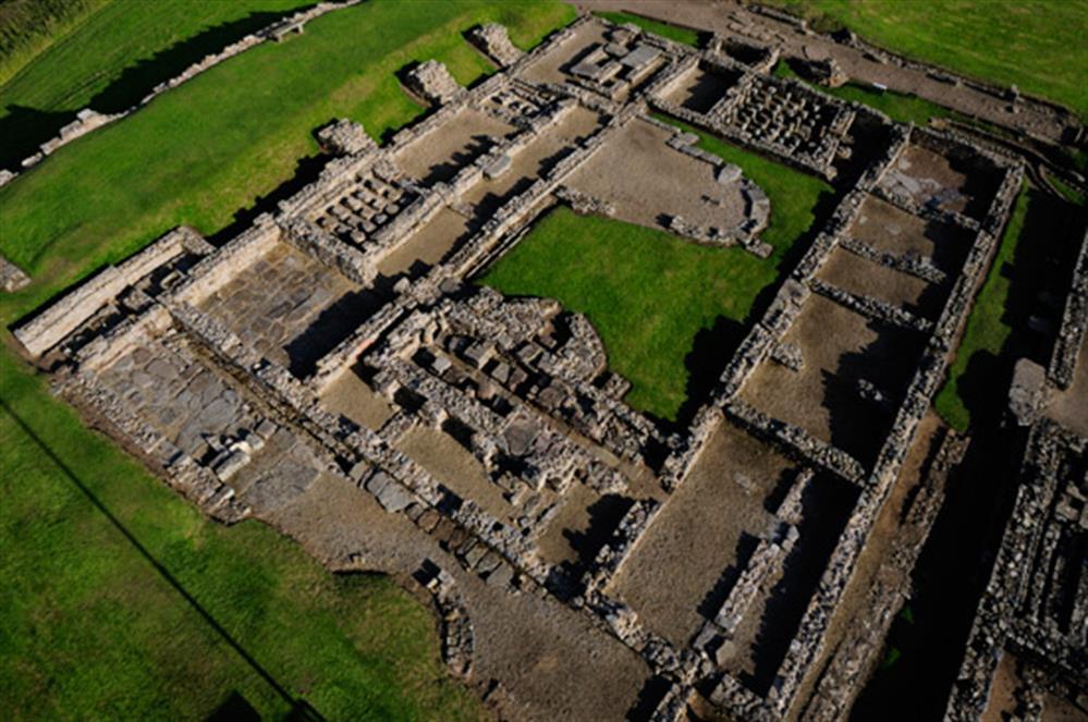 The Romans had wooden toilet seats?