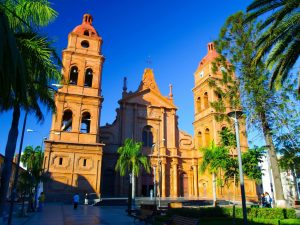 Santa Cruz de la Sierra cathedral Bolivia Far Horizons archaeology tour