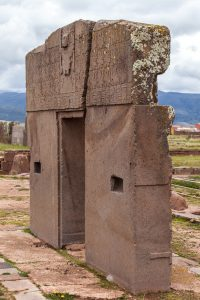 Tiwanaku Gate of Sun Bolivia tour archaeology tour