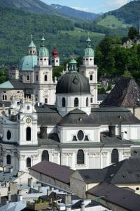 Salzburg church archaeology tour museum tour