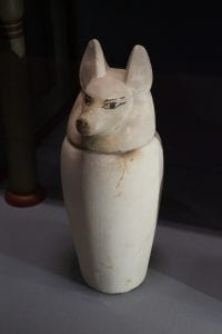Seth Canopic Jar Archaeology tour