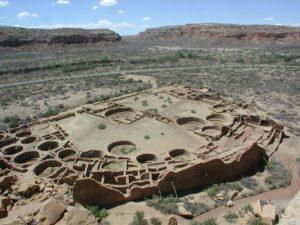 Chaco Canyon Pueblo Bonito Southwest tour New Mexico tour