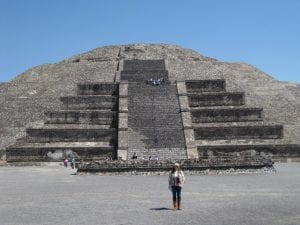 Teotihuacan Temple of Sun Mexico tour Archaeology tour