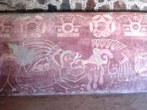 Teotihuacan mural Mexico tour archaeology tour