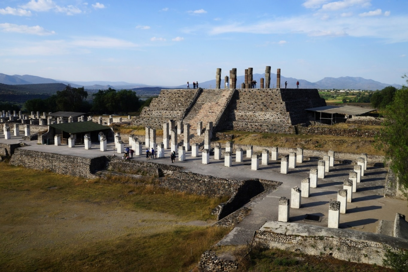 Tula pyramid archaeology tour Mexico tour Toltec tour