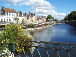Amiens river Bill Cook France Tour