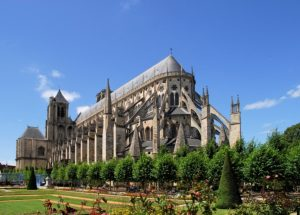 Bourges Cathedral France tour