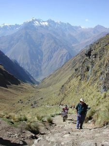 Inka Trail hike Peru trip adventure