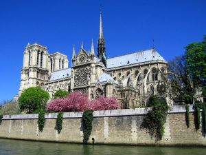 Paris Notre Dame Cathedral River France tour
