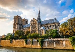 Paris Notre Dame France tour cathedrals