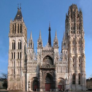 Rouen Cathedral France tour
