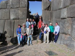 Saksaywaman group Peru tour Inka Trail