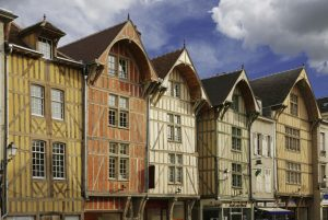 Troyes houses cathedral tour france tour